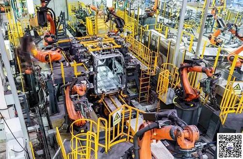 自动化程度最高的行业,汽车制造